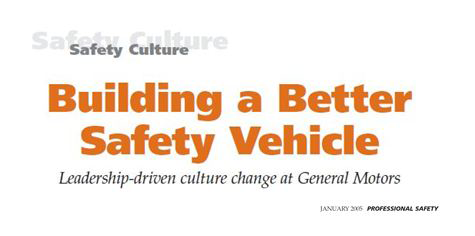 Building a better safety vehicle
