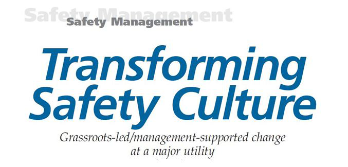 Transforming Safety Culture